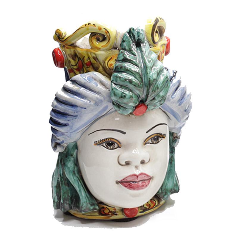 testa-ceramica-caltagirone-donna-multicolor-bianco-small