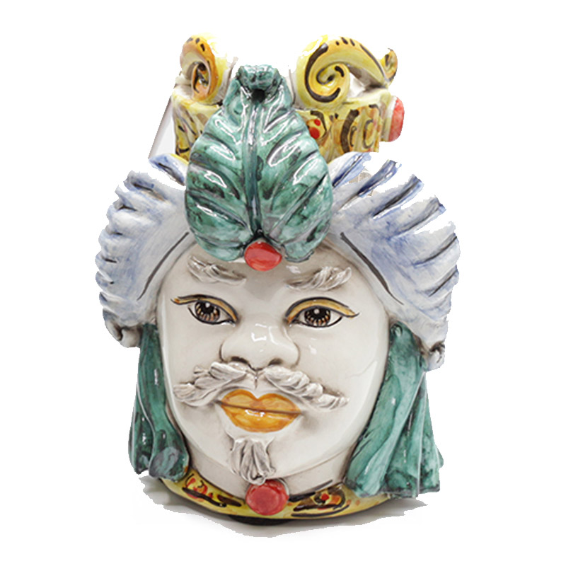 testa-ceramica-caltagirone-uomo-multicolor-bianco-small